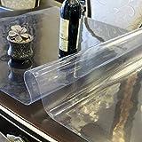Soft,Pvc,Soft Glass,étanche, Burn-proof,Nappes En Plastique/Napperon/Tapis De Table à Thé/Nappe De Table Givrée Transparente