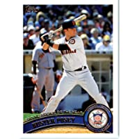 2011 Topps Baseball Card #282 Buster Posey - NL Rookie of the Year - San Francisco Giants - MLB Trading Card