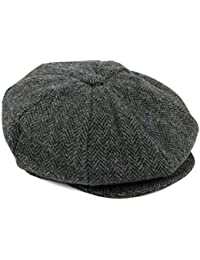 1e8a5f3c117 Hat To Socks British Made 100% Authentic Harris Tweed 8-Panel Newsboy Cap