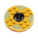 Bausteine gebraucht 1 x Lego System Ninjago Spinner gewölbt 6x6 rot perl Gold Gesicht Weiss Element EIS ohne Gleitstein Set 2171 bb493c04pb04*