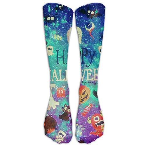 Happy Halloween Compression Socks Soccer Socks High Socks For Running,Medical,Athletic,Edema,Diabetic,Varicose Veins,Travel,Pregnancy,Shin Splints,Nursing.