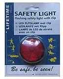 LED Sicherheitslampe Blinkwarnleuchte inkl. Ming Tay Fahrrad-Bügelschloss Fahrradschloss Bügelschloss aus Chromoly Stahl