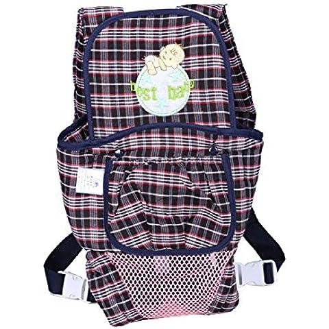 Backpack Strap Marsupio traspirante Moda regolabile multifunzionale Lattice regolabile Cotton Comfort bambino spalla