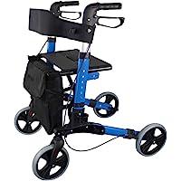 Mobiclinic, Deambulatore, Trajano, Marchio europeo, Pieghevole, Marcatura CE, Deluxe, Rollator per anziani o disabili…
