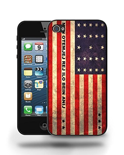 Bikini Atoll National Vintage Flag Phone Case Cover Designs for iPhone 5