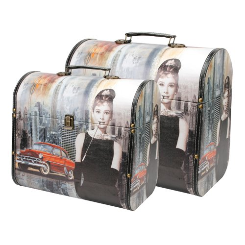 Audrey Hepburn Storage Boxes (set of 2)