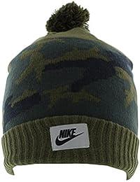 92cec4bf941 Gorro Nike – Nsw Camo Pom Beanie Caqui Cargo Verde Algas Obsidian OSFA