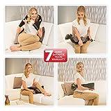 Donnerberg NM089 – Nacken und Schulter Shiatsu Massagegerät mit Infrarotwärmefunktion - 6