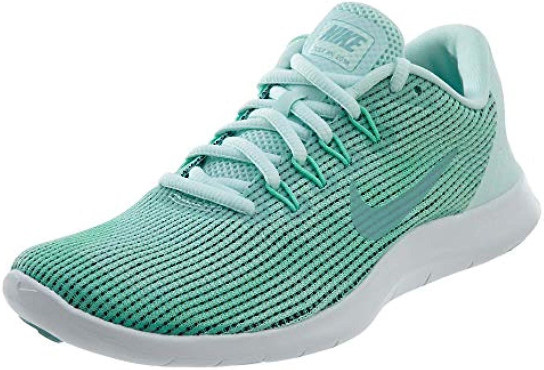 Nike Flex RN 2018 2018 2018 (8.5, Igloo Island verde-verde Glow-bianca) | Outlet Online  53ba52