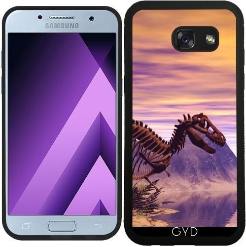 SilikonHülle für Samsung Galaxy A3 2017 (SM-A320) - Dinosaurier-Skelett by nicky2342