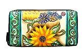 Niarvi Rising Flower Handgemalte Wallet