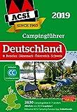 ACSI Campingführer Deutschland 2019: +Benelux-Dänemark-Österreich-Schweiz, 2630 Campingplätze (Hallwag Promobil)
