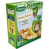 Blédina gourde pomme banane 4x90g - ( Prix Unitaire ) - Envoi Rapide Et Soignée