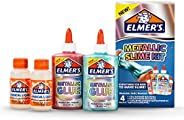 Elmer's Slime Kit | Slime Supplies Include Elmer'S Metallic Glue, Elmer'S Magical Liquid Slime Activator, 4 Pi