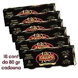 Tranci di tonno Yellowfin Callipo all'olio di oliva 80 gr x 18 RISERVA ORO