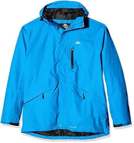 Trespass Corvo - Giacca da uomo, Blu (blu), (Fresh Air Hood)