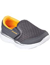 Skechers Infant Boys Equaliser Persistant Trainers in Charcoal