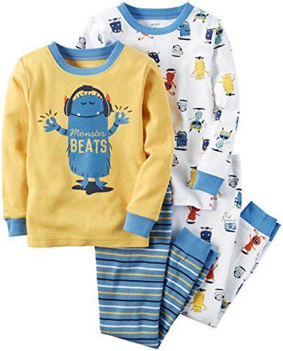carters-4-stuck-mix-n-match-baby-kleinkind-boys-baumwoll-pyjama-set