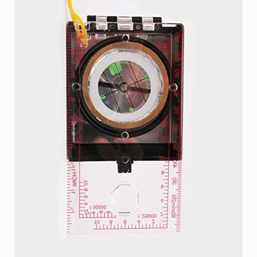 Produzieren Maßstab (Liuyu · Outdoor-Zuhause Kompass Multifunktions Karte gerichtete Bewegung Off-Road-Zeichnung Maßstab Herrscher Lanyard)