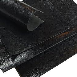 Corte de piel de búfalo negro Used Look 2,7mm A4160
