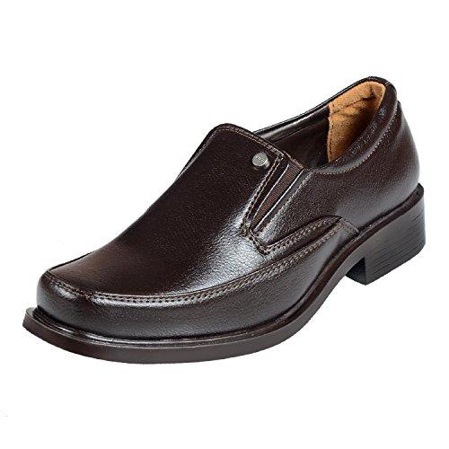 Liberty Men's Semi Formal Brown Shoes