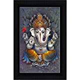 JSOnline Ganesha Paintings With Frame || Ganesha Wall Hanging Decoration || Ganesha Wall Hanging || Ganesha Wall Stickers || Ganesha Wall Painting || Ganesha Wall Painting With Frame || Ganesha Wall Paintings For Living Room || Ganesha Paintings With Fram