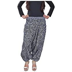Soundarya Womens Regular Fit Harem Pants (AP3, Grey)