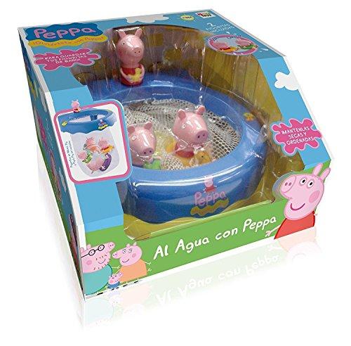"""IMC Toys - Peppa Pig """"Al agua con Peppa"""", juguete de baño (360112)"""