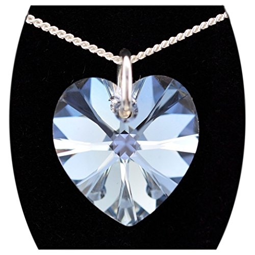 Jewellery-Joia   925  Argento Cuore   bianco Cristallo Diamante