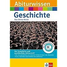 Klett Abiturwissen Geschichte - Das Dritte Reich: für Oberstufe und Abitur