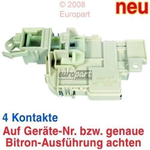Verriegelungsrelais Waschmaschine AEG Lavamat ZANKER ZANUSSI PRIVILEG ELECTROLUX 146117404