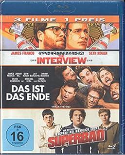 Das ist das Ende / The Interview / Superbad [Blu-ray] 3 Film Collection