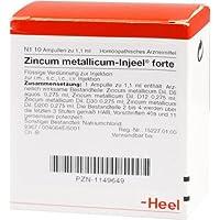 ZINCUM METALLICUM INJEEL forte Ampullen 10 St preisvergleich bei billige-tabletten.eu