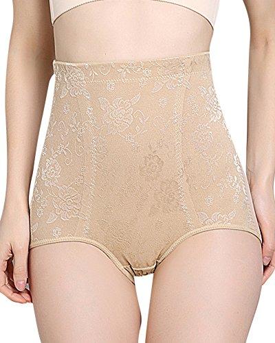 Donna pancere mutande contenitivo alta vita shapewear body shaper mutandine controllo mutande nudo xl