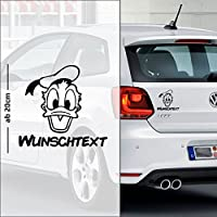 Donald Duck #1 | Baby - Name On Board | Wunschtext | Auto Aufkleber | Baby On Board