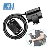 Godox EC200 2M Cable Portable Off-Camera Light Lamp Extension Flash Head portable off-camera light lamp with AD200 Bare Bulbs Head and Speedlite Head Hot Shoe for GODOX AD200 Flash Light