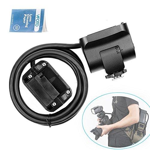 Godox EC2002m cavo portatile off-camera Light Lamp prolunga Speedlite Head Portable off-camera lampadine lampada con AD200Bare della testa e testa Hot Shoe per luce flash Godox AD200