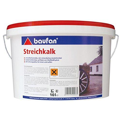 Baufan Streichkalk (10l)