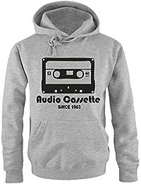 AUDIO CASSETTE - since 1963 - Herren Hoodie Gr. S bis XXL Diverse Farben