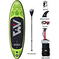 YONGMEI Paddle Board Surfing Stand-up Paddle Board Versión Profesional (Que Incluye Full Paddle + Foot Rope + Air Pump + Backpack, etc.) (Color : Green)