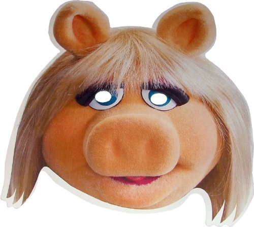 The Muppets - Miss Piggy - Card Face Mask