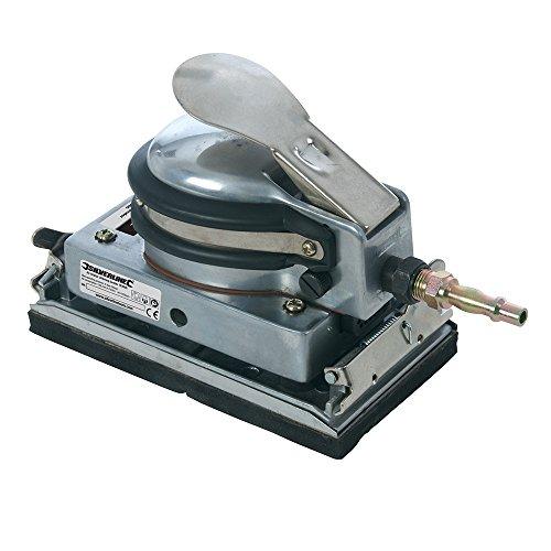 Silverline 763565 Druckluft-Schwingschleifer 90 x 170 x 12 mm