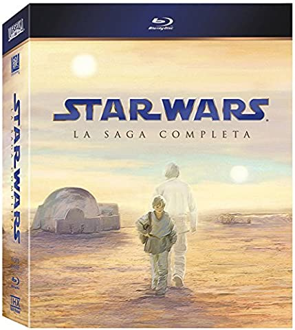 Star Wars The Complete Saga - Star Wars Saga Completa (2011) [Blu-ray] [Import