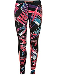 Skins Damen DNAmic Leggings Sport Training Fitness Kompression Hose Leggins