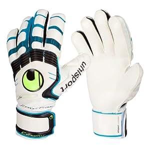 Uhlsport Handschuhe Cerberus Soft SF, Unisex-Erwachsene Torwarthandschuhe weiß 7.5