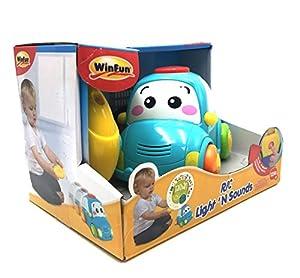 WinFun - Coche infantil radio controlada con volante (CPA Toy 1155-ML)