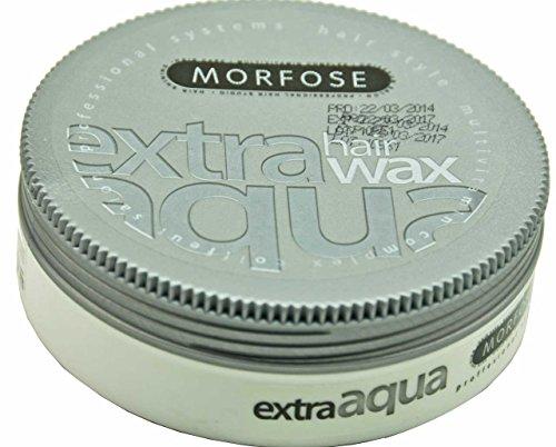 2x Morfose Extra Aqua Hair Wax - Kaugummiduft 175 ml