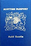 Scottish gift's - SCOTTISH NOVELTY PASSPORT - uk gift