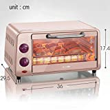 LXD Four multifonction ménager-Mini four ménager 10L avec réglage de température...