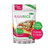 10x Rawpasta Konjac Shirataki Rice 200g, Low Carb Rice, Glutenfree